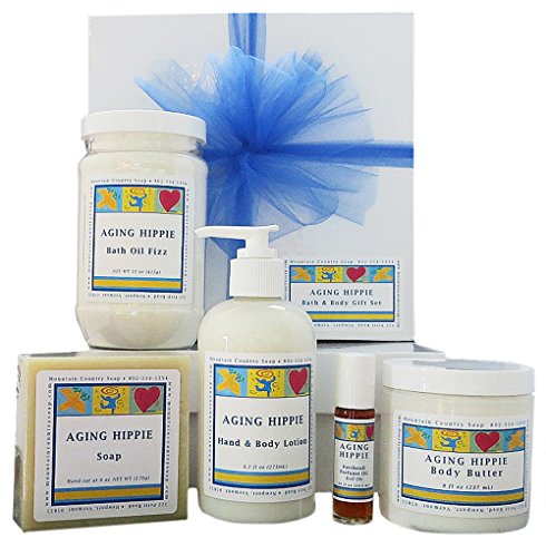 Aging Hippie Bath & Body Gift Set
