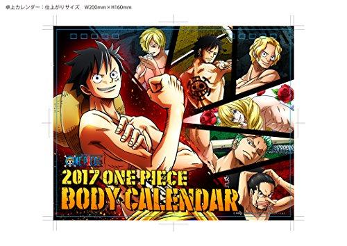 [Tabletop] One Piece Body Calendar 2017 [Japan Calendar] 17CL-0007