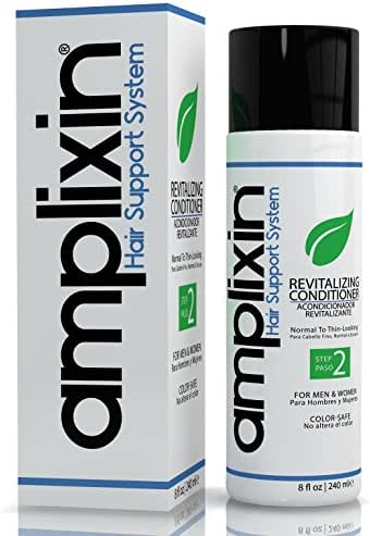 Amplixin Revitalizing Argan Oil Conditioner - Hair Regrowth Deep Conditioning Treatment For Men & Women - Sulfate Free Prevention Formula Against Hair Loss, Alopecia & Receding Hairline, 8Oz