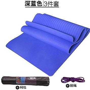 YOOMAT 1.2 m de Ancho Doble Mat Yoga TPE insípido 10mm ...