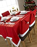 Christmas Dining Chair Slipcovers Chair Back Covers
