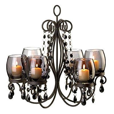 VERDUGO GIFT Midnight Elegance Candle Chandelier