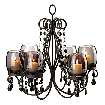 VERDUGO GIFT Midnight Elegance Candle Chandelier