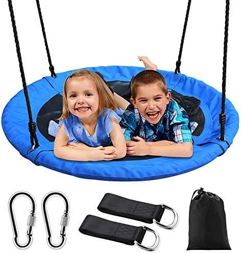 Large 1m Pirate Boat Swing Tree Playground Nest Swing seat