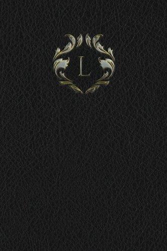 "Monogram ""L"" Blank Book (Monogram Black 150 Blank) (Volume 12) pdf"