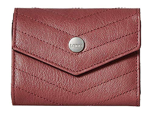 Lodis Accessories Women's Carmel Mason French Purse Rosewood One Size ()