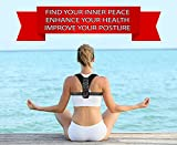 Posture Corrector for Women - Rounded Shoulders Ultimate Comfort Shoulder Corrector Clavicle Cervical Wearable Support for Upper Back. Shoulder & Neck Pain Relief