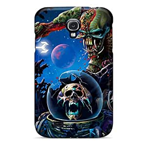 Fashionable Style Case Cover Skin For Galaxy S4- Iron Maiden