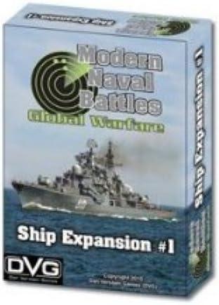 Kit 1 for Modern Naval Battles 3rd DVG Ship Expansion