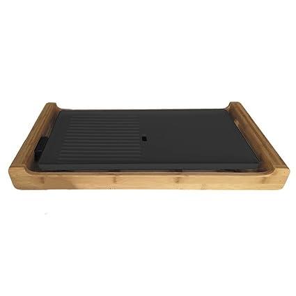 Novedad: de diseño de alta calidad plancha de cocina bratplatte mesa Barbacoa Party Grill –
