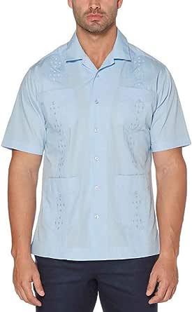 Cubavera Mens Short Sleeve Embroidered Guayabera Shirt 7064 ...