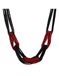 New Alloy Women Punk Rock Multi Strands Chain Chunky Choker Necklace Collar