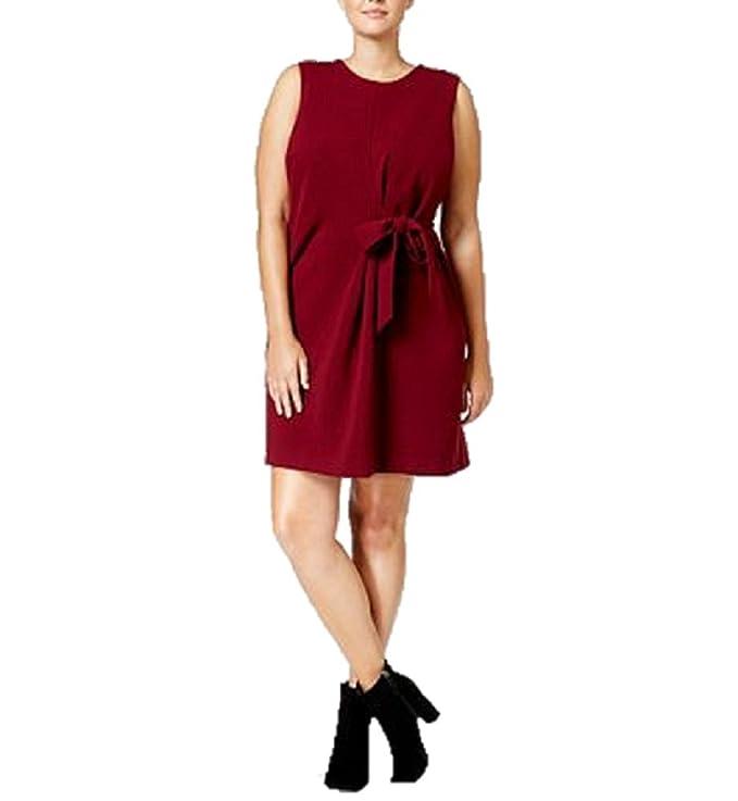 ca76d18ef61c RACHEL Rachel Roy Curvy Trendy Plus Size Tie-Front Dress 24w at Amazon  Women s Clothing store