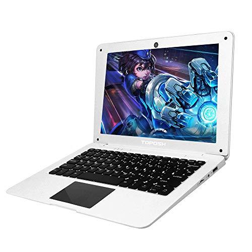 TOPOSH 10.1 Inch Windows 10 Laptop PC Mini Computer Notebook 2GB RAM+32GB SSD Intel Atom X5-Z8350 Quad-Core Graphics 1…