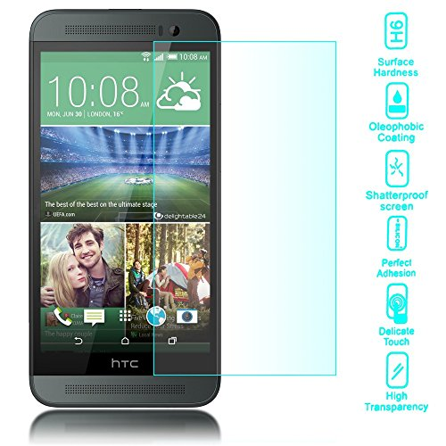 Tempered Glass Screen Protector for HTC One E8 (Clear) - 2