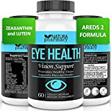 Vegan Eye Health Vitamins AREDS 2 Formula with