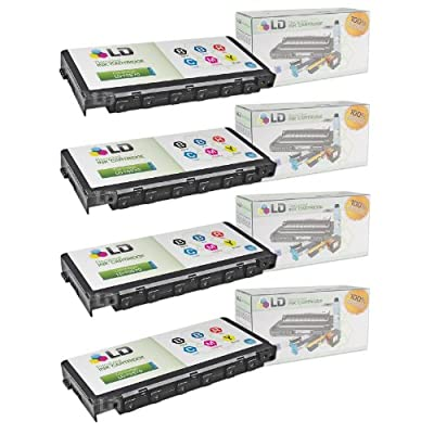 LD Products Remanufactured Ink Cartridge Replacement for Epson T5570 ( Black,Blue,Red,Cyan,Magenta,yellow , 4-Pack)