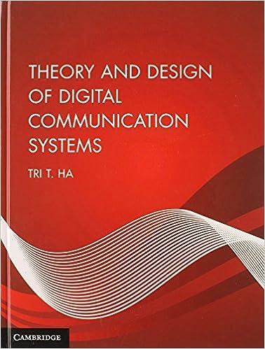 Téléchargement gratuit du programme de téléchargement de livresTheory and Design of Digital Communication Systems PDF PDB CHM by Tri T. Ha