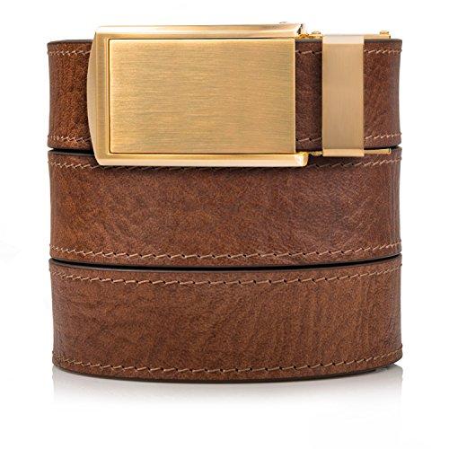 Large Product Image of SlideBelts Men's Premium Top Grain Signature Leather Ratchet Belt