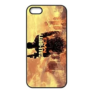 Custom Call Of Duty Back Cover Case for iphone 5,5S JN5S-1350
