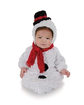 Horror-Shop Muñeco de nieve del bebé Saco de vestuario: Amazon.es: Juguetes y juegos