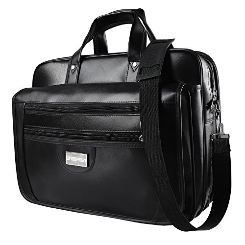 15.6 inch Vangoddy Travel Carrying Trogons Laptop Bag for 14-15.6 inch Laptop - for Acer Aspire One CloudBook 14-inch Laptops / HP EliteBook 840 G2 14-inch Laptops / HP ProBook 645 G1 (Black) by ECCRIS