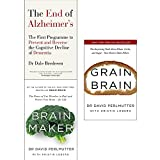 img - for End of alzheimers, brain maker and grain brain 3 books collection set book / textbook / text book