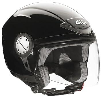 GIVI Casco Jet H10.4 Negro brillo (L)