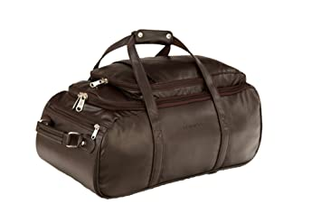 MBOSS Multi Use Faux leather Unisex Brown Travel Duffel Bag- TB 041 ... 432f18bd3fd3e