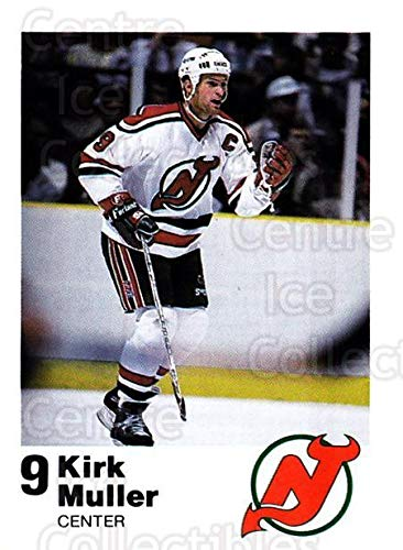 78876eb7e Amazon.com  (CI) Kirk Muller Hockey Card 1987-88 New Jersey Devils Team  Issue 19 Kirk Muller  Collectibles   Fine Art