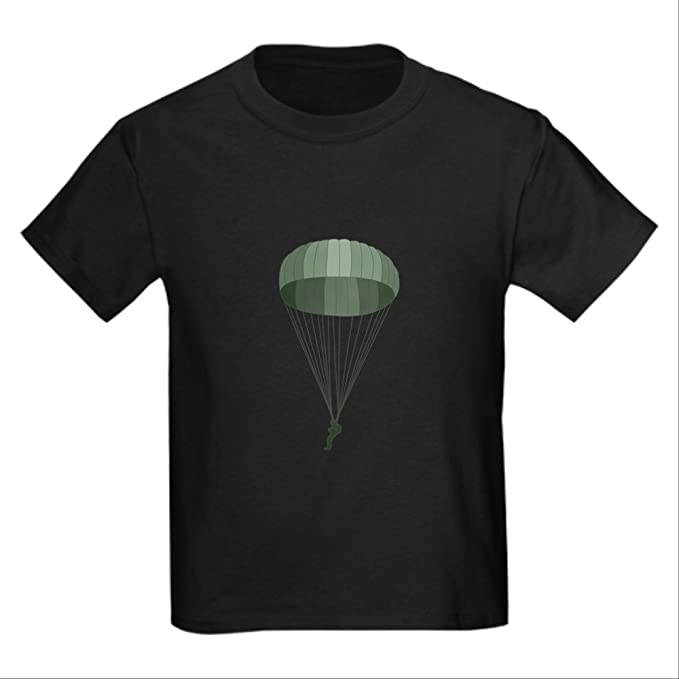 f5be64c956 Amazon.com: CafePress - Airborne Paratrooper T-Shirt - Kids Cotton T ...