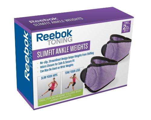 Reebok Slimfit Ankle Weights Set (4-Pound)