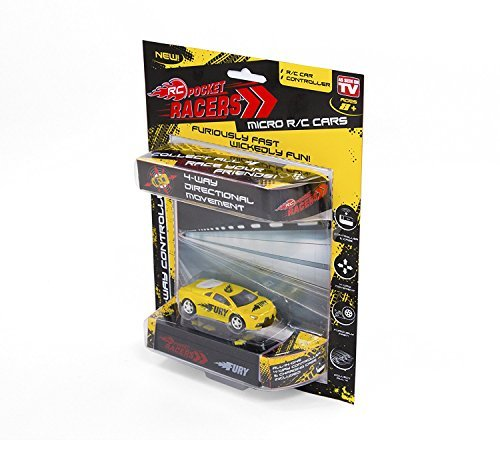 RC Pocket Racers - As Seen on TV - RED
