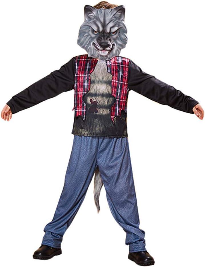 LJLis Disfraz De Pequeño Lobo,Disfraz Hombre Lobo para Niños Y ...