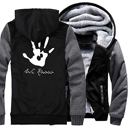 Men's Hoodies Print Skyrim Dark Brotherhood Hand Fashion Sweatshirts