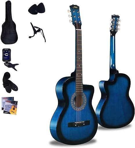 Boll-ATur Azul 38 pulgadas guitarra acústica - Navidad ...