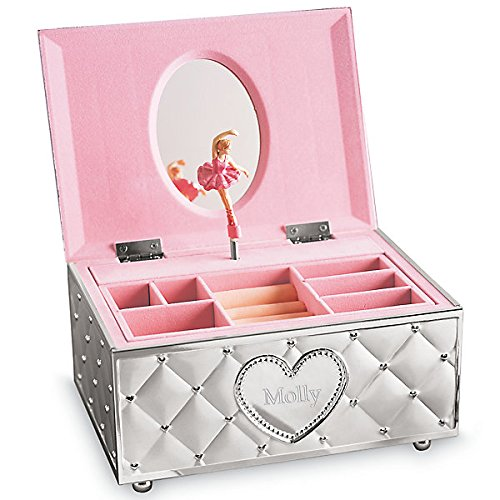 Lenox Personalized Engraved Childhood Memories Ballerina Musical Jewelry Box