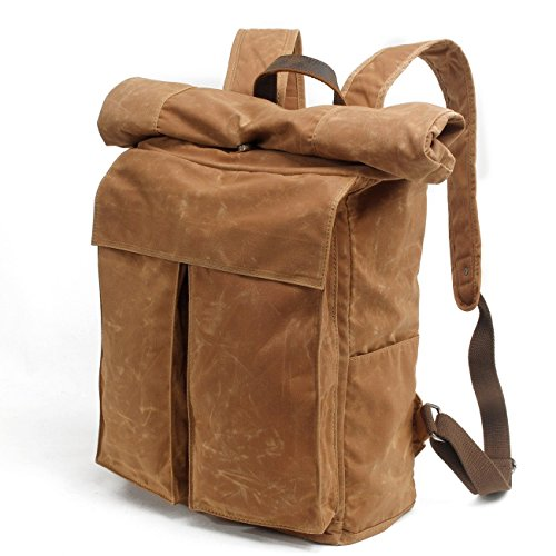 Neu, Retro, Persönlichkeit, Mode, Reisetasche, Rucksack, Schultasche, Segeltuch wasserdichte Tasche, B0078