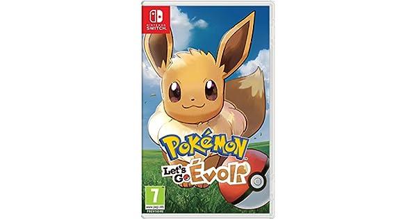 Pokémon : Lets Go, Evoli - Nintendo Switch [Importación francesa ...