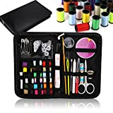 MumCraft 39 Spools of Thread - FREE Extra 20 Most Useful Colors of Threads - Mini Travel sewing kit, Beginners Sewing Kit, Emergency sewing kit, Campers and home