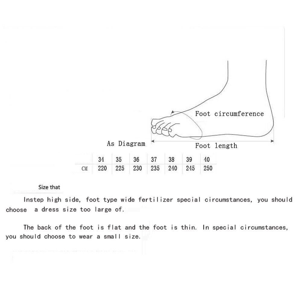 Hy Damen Stiefel Winter Wildleder Plus Cashmere Slip-Ons Warm Schnee Stiefel Stiefel/Damen Gürtelschnalle Slip-Ons Cashmere Booties/Ski Schuhe Wanderschuhe (Farbe : B, Größe : 38) - 8bb605