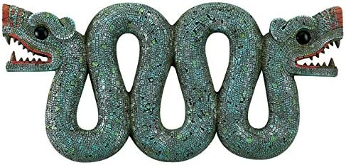 Design Toscano Aztec Double – Headed Serpent Wall Sculpture
