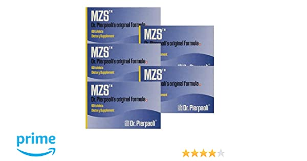 Amazon.com: Melatonin MZS Sleep Disorder & Reversal of Macular Degeneration 60 Count (5 Pack - 300 Capsules): Health & Personal Care