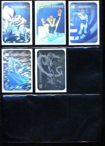 1990 Impel Marvel Universe Trading Cards Series 1 (Complete Set with Holograms)