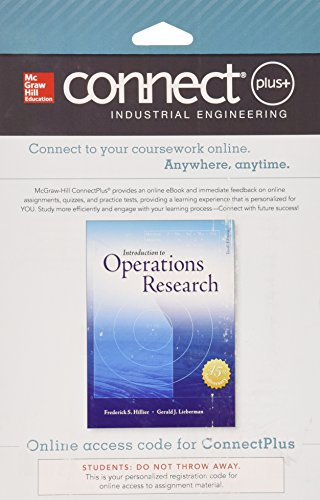 Connect 1-Semester Access Card for Introduction to Operations Research