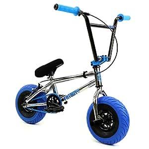 Fatboy Mini BMX Bicycle Freestyle Bike Fat Tires Chrome
