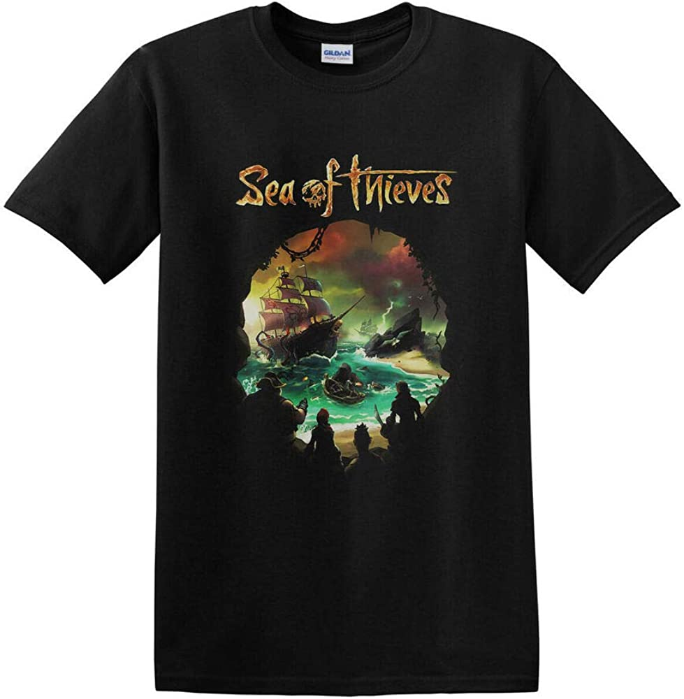 REW Sea of Thieves Shirt Action Adventure Pirate Game Sea of Thieves T-Shirt S-2XL