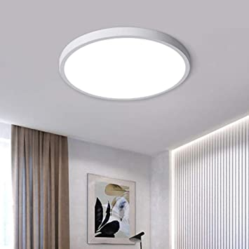 Jaycomey Modern 38w Led Ceiling Light 15 7 Inch Super Bright Led Flush Mount Ceiling Light Fixture 6500k Cool White Ceiling Lamp For Bedroom Living Dining Room Kitchen Amazon Com
