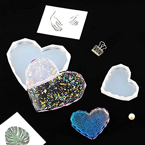 Home Decoration Bowl Mat Pendant iSuperb 3Pack Coaster Resin Molds Epoxy Casting Molds Silicone Molds for Coaster