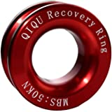 QIQU Recovery Ring for ATV UTV SUV Truck Recovery Suitable for Soft Shackle (5T)